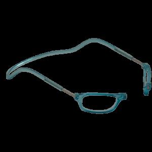leesbril magneetbril classic lichtblauw