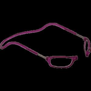 leesbril magneetbril classic paars