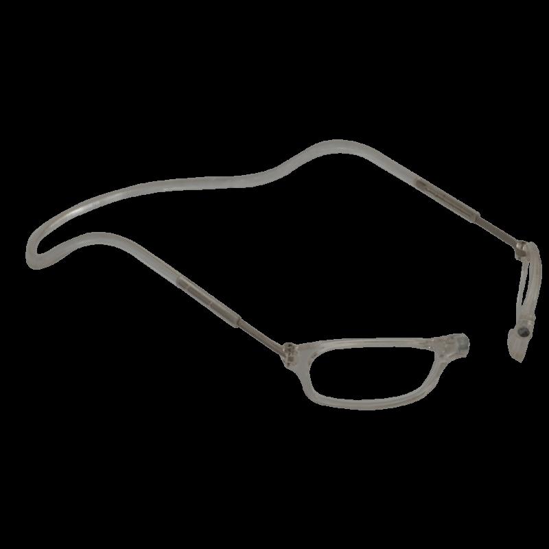 Lesebrille Magnetbrille classic transparent