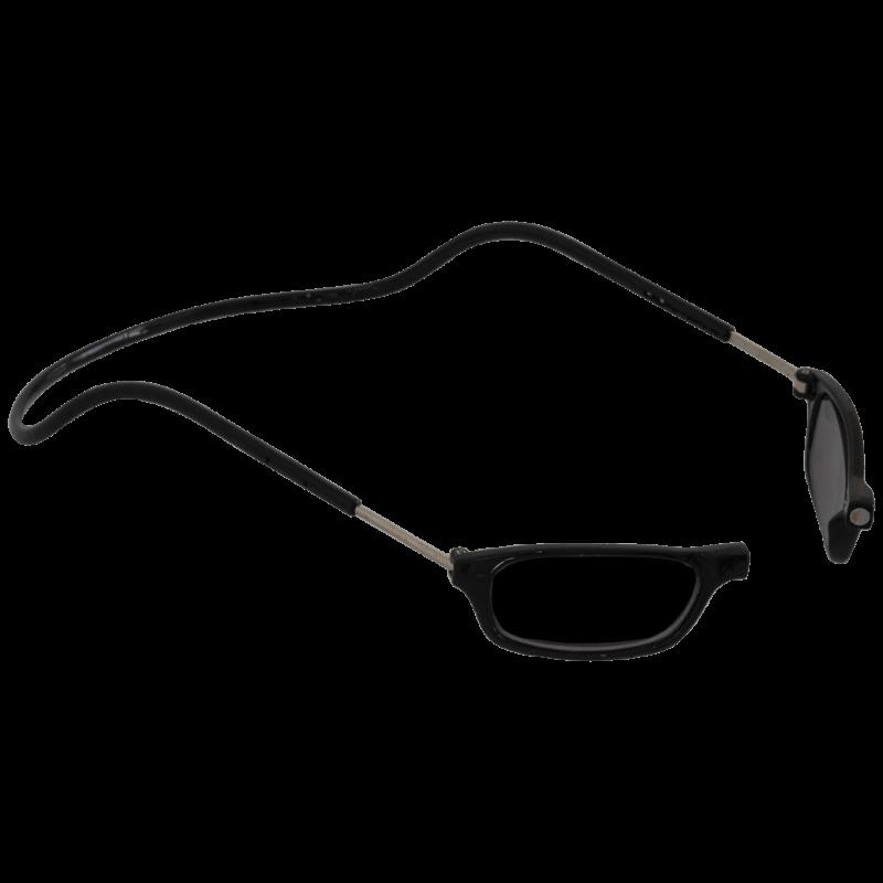 Lesebrille Magnetbrille Sonnenbrille schwarz