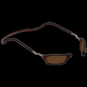 leesbril magneetbril zonnebril XL bruin