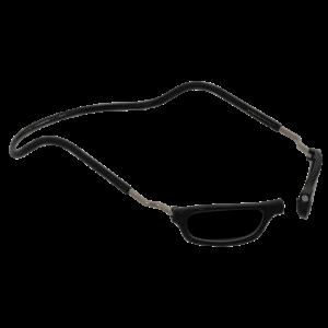 leesbril magneetbril zonnebril XL zwart