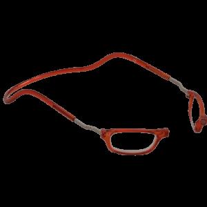 leesbril magneetbril classic XL oranje