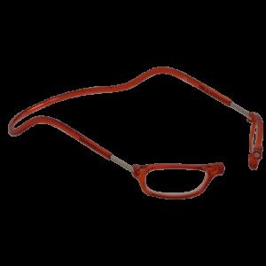 leesbril magneetbril classic oranje