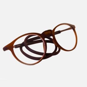 Flexibele leesbril met magneet