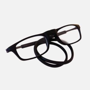 Magneetbril Flexibele Rechthoekig Zwart
