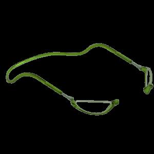 magneetbril half maantje groen